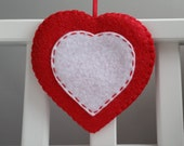 Felt Heart Decoration