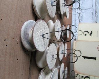 Table Number Holder Vintage Rustic Wedding Decor Photo Holder