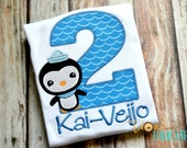 Peso Octonauts Birthday Shirt - PLEASE READ DESCRIPTION - number can be changed - Add A Name For Free