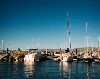 Bear Lake Marina-  Landscape Utah Photography 5x7