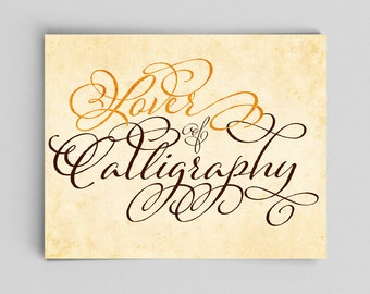 Typography Print Calligraphy Poster Typographic Print Calligraphy Lover Save Cursive Writing Gift Classroom Decor Editor Librarian Library