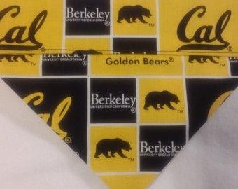 University of California Berkeley Golden Bears Dog Bandanas!!
