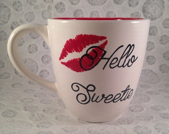 Hello Sweetie River Song Mug