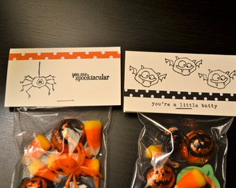 Halloween Treat Bags and Toppers - Halloween Party Favors (10)
