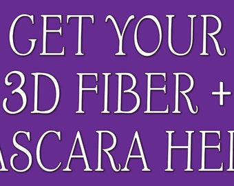 Younique 3D Fiber Mascara Banner Purple