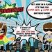 Superhero birthday card - twins birthday, digital printable file - boy boy, girl girl, boy girl