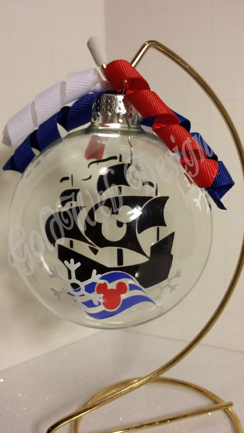 Disney Cruise Line Inspired Floating Glass Ball By