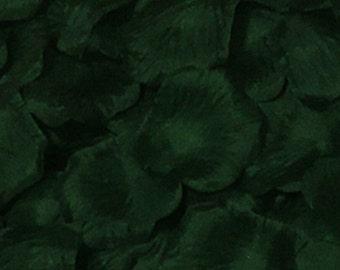 Emerald Green Petals Silk Flower Petals Silk Rose Petals For Wedding Party Aisle Decor Confetti 1000 Petals HB-LX-051
