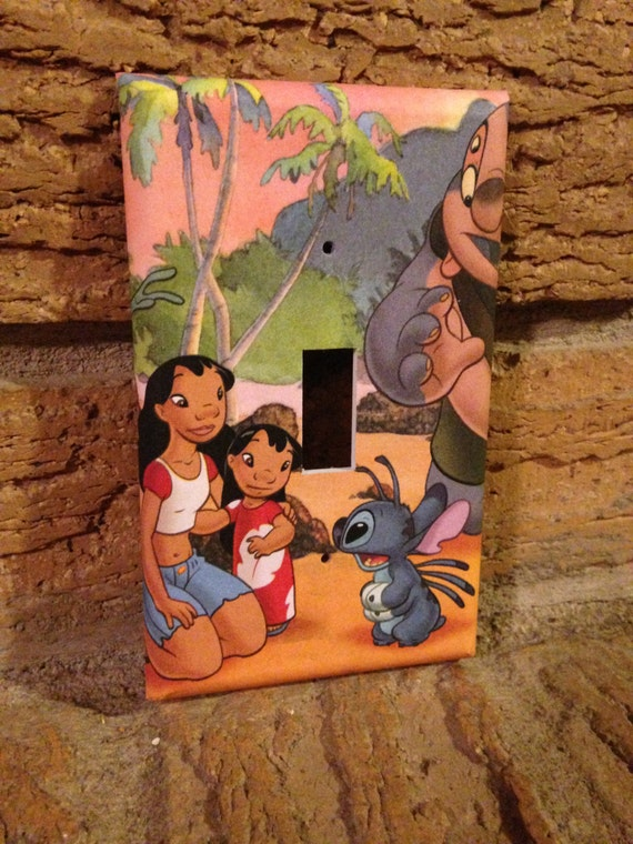 Lilo And Stitch Light Switch Cover Lilo And By