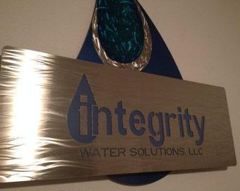 Cheryl's custom business sign