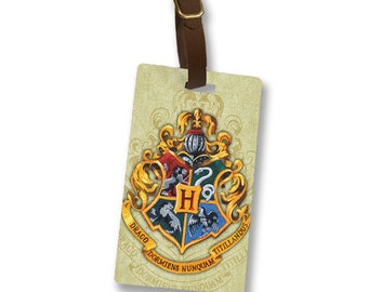 Hogwarts School Of Wizardry Harry Potter Personalized Luggage Tag