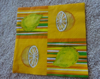Paper napkin 1 pc