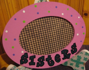 Sisters Rose Picture Frame