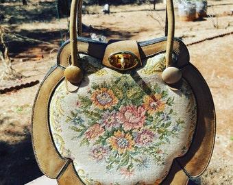 Floral Boho Nouveau Bag