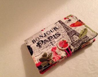 Tea Bag Wallet Case,Tea Bag Organizer,French,Paris