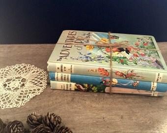 Books bundle Edin Blyton vintage 1960s childrens set x 3