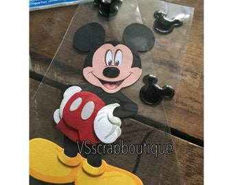 DISNEY Jolee's Boutique Mickey Mouse Scrapbook Embellishment