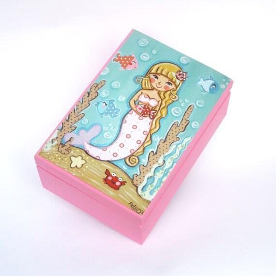 the little mermaid jewelry box
