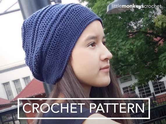 Slouch Hat Crochet Pattern: South Haven Slouch Crochet ...
