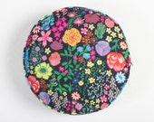 Wildflowers Circle Cushion Cover