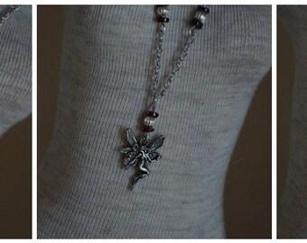 SD fairy charm necklace