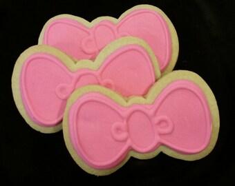 Hello Kitty Bow Cookies (1 dozen)