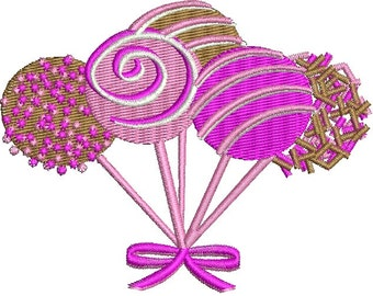 candys  - Machine Embroidery Design
