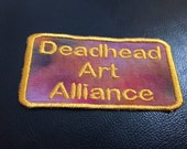 Reserved Julie Deadhead Art Alliance Sew on Patch
