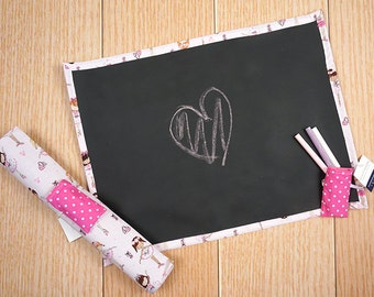 Travel Chalkboard Mat - Ballerinas