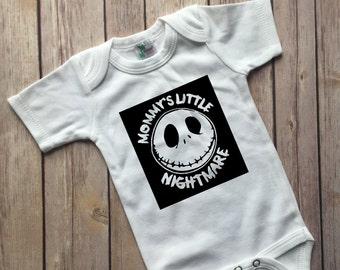 Mommy's Little Nightmare, Jack Skellington, Nightmare Before Christmas, Bodysuit, halloween