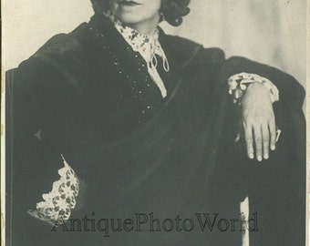 Russian actor Yudin in costume antique photo MHAT