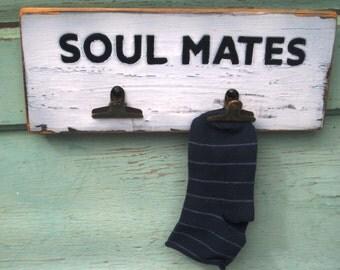 Lost Socks Laundry Decor Soul Mates Missing Socks Sole Mates Laundry Room Decor Shower Gift Wood Sign Wood Laundry Room Sign Wood Wall Art