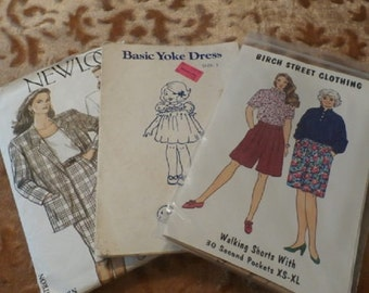 Set of 3 Clothing Patterns
