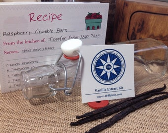 Vanilla Extract Kit - Make Your Own Homemade Vanilla Extract