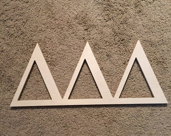 Delta Delta Delta Sorority Wooden Letters