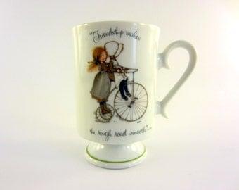Holly Hobbie Footed Mug