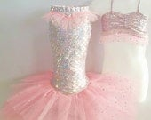 "Little Mermaid Princess Costume for Dress-Up,Portraits or Holloween! ""Pink"""