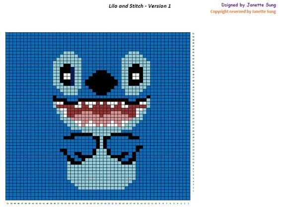 Liol & Stitch C2C Blanket Pattern - Pattern Only (Download Instantly)
