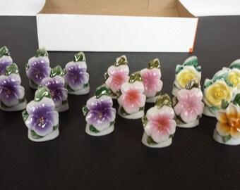 Flower Place Card Holders - Japan