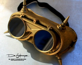 Dragon Gold Goggles by Dr. Sharp