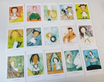 Happy Angel Minicard Set - 64Cards