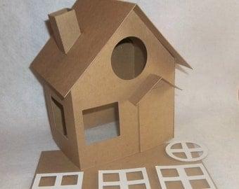 Putz Style Houses- Large Cottage - DIY