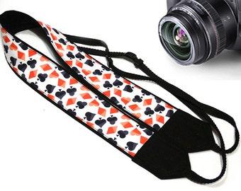 Poker Camera Strap. Play Cards Camera Strap.  Camera Accessories