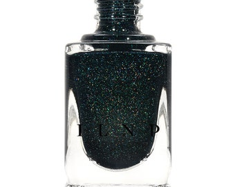 Mountain View - Forest Green Holographic Nail Polish