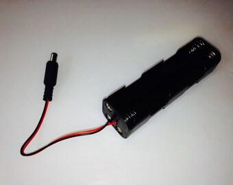 The Octopak TM 3-S 2 X 2 X 2 AA  LED Strip Light Battery Pack