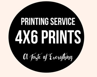 Add on 4x6 invitation Printing service white envelopes included Matte or Glossy