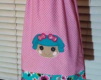 LaLa Loopsy Peasant Dress