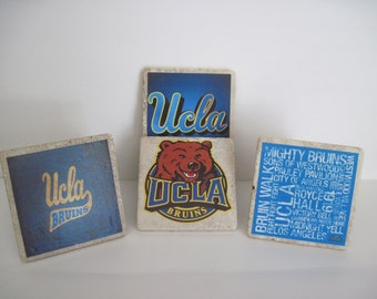 UCLA Bruins Coasters - Set of 4