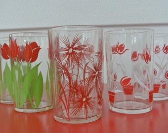 Vintage Tulip Flower Swankies