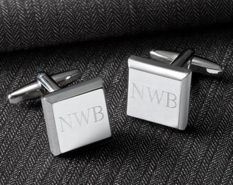 Modern Square Cufflinks (GC1300)